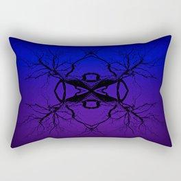 Purple Tree Haze Rectangular Pillow