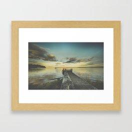 Dating Alice in wonderland Framed Art Print