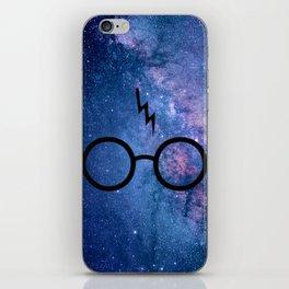 Cosmic Lightning Scar HP iPhone Skin