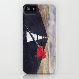 penna macchia iPhone Case