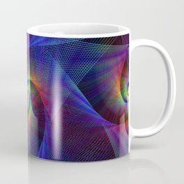 Fractal magic lights Coffee Mug