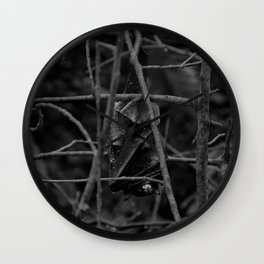 Evil Bat Wall Clock