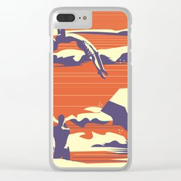 Diver 04 Clear iPhone Case