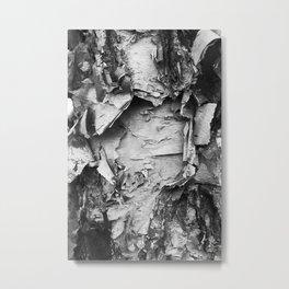 Dark Bark Metal Print