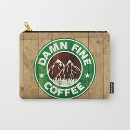 Damn Fine Coffee Carry-All Pouch