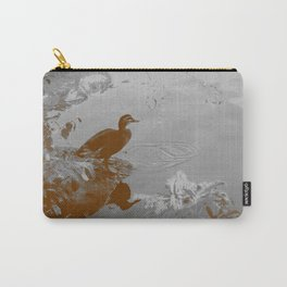 Duck Pond - Sepia Carry-All Pouch