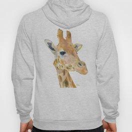 Giraffe Watercolor Hoody