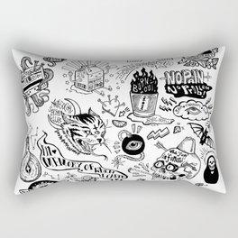 3am Thoughts Club Rectangular Pillow