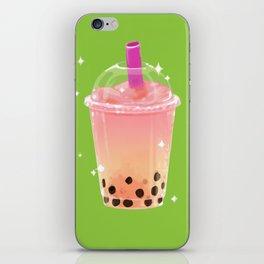 Frozen Boba Tea iPhone Skin