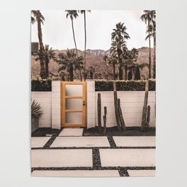 Palm Springs House Poster