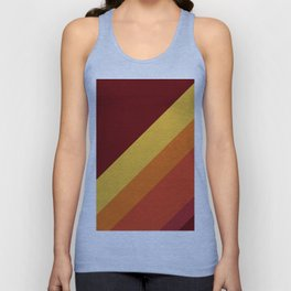 Retro 70s Color Palette II Unisex Tank Top