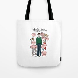 Seth Cohen, Perfection Tote Bag