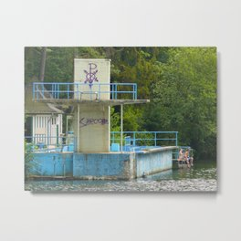 Lost Places, the bath 02 Metal Print