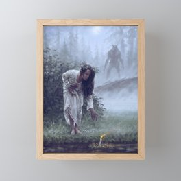 Midsummer night's dream Framed Mini Art Print