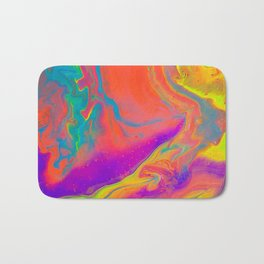 Psychedelic dream Bath Mat
