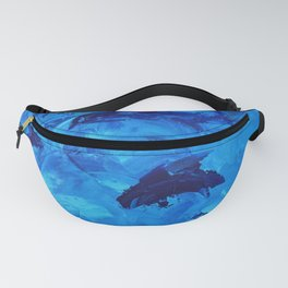Dolphins Frolicking in the Ocean Fanny Pack