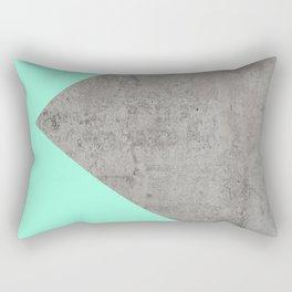 Sea Collage on Concrete Rectangular Pillow