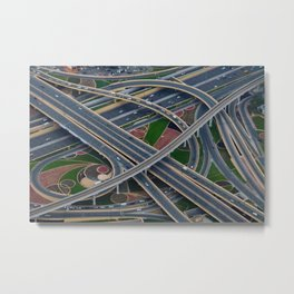 Dubai 55 Metal Print