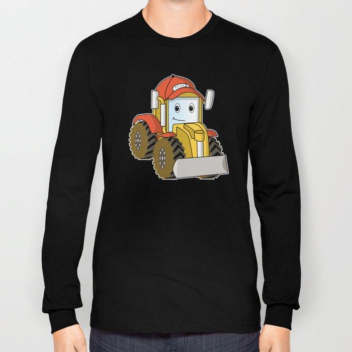 truck toy kids wheeler gift idea Long Sleeve T-shirt