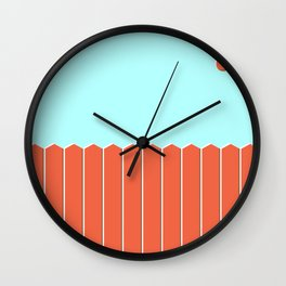 Six and Out Wall Clock