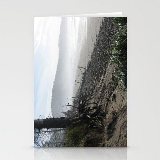 Misty Morning Walk Stationery Cards
