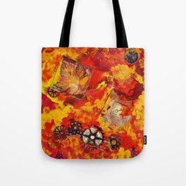 There is Nothing Left For You Back There Tote Bag