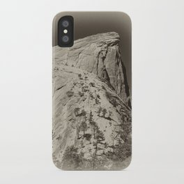 Yosemite Half Domes Backside Re-imagined iPhone Case
