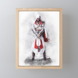Ezio Auditore Framed Mini Art Print