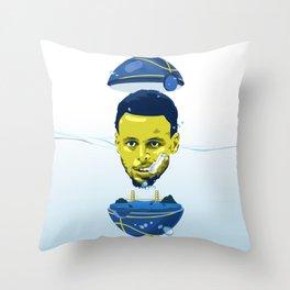 STEPH GONNA STEPH Throw Pillow