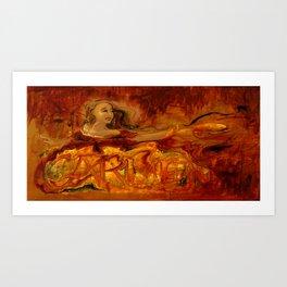 Carmen - Bizet - Opera Illustration by Elizabeth E. Schuch - Gypsy Dancer Art Print