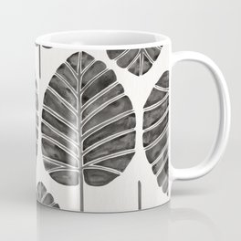 Elephant Ear Alocasia – Black Palette Coffee Mug