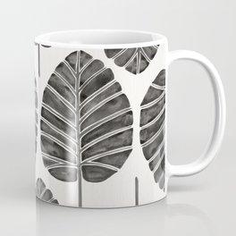 Elephant Ear Alocasia – Black Palette Coffee Mug