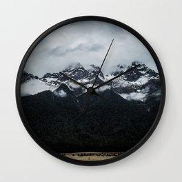 Black Mountain Totem Wall Clock