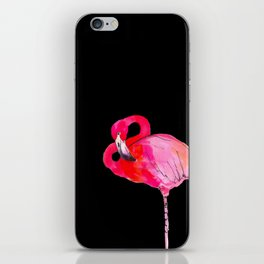 Fancy Flamingo iPhone Skin