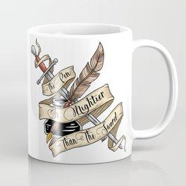 The Pen is Mightier Coffee Mug