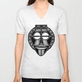 Happy Malaysian Mask Unisex V-Neck