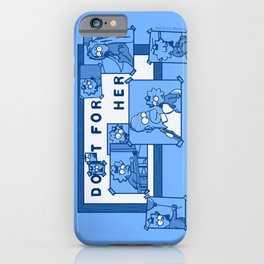 Do It For Her (Simpsons) iPhone Case