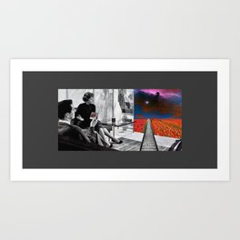 Friday Night with the New Portal Art Print