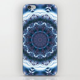 Snow Mandala iPhone Skin