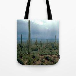 Arizona Desert and Cactuses Tote Bag