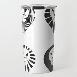 animal PICTOGRAMS vol. 2 - LIONS Travel Mug