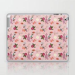 Eastern delight Japanese garden, pink. Laptop & iPad Skin
