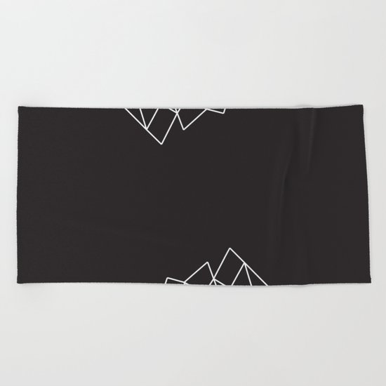 Geometric Pattern VII Beach Towel