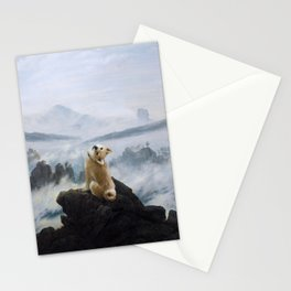 The Wanderer Above the Sea of Doge Stationery Cards