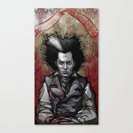 Sweeney Canvas Print