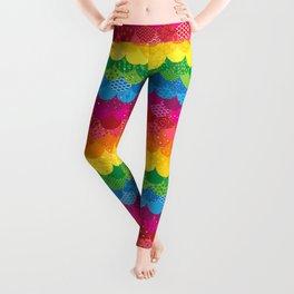 Waves of Rainbows Leggings