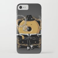 gangster iPhone & iPod Cases featuring Gangster Donut by Javier Ramos