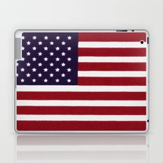 American flag with painterly treatment Laptop & iPad Skin