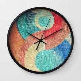 Yin Yang and Something More Wall Clock