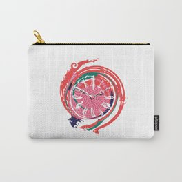 Lost Time Clock Carry-All Pouch